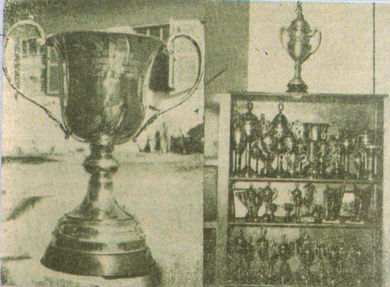 Taça de Aniversário dos 5 anos da A.A. TUPY oferecida pelo SESI